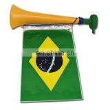 Brazil fans cheering plastic french horn