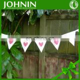 china made top quality Cheap printed party decoration fabric bunting