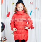 T-GC013 Wholesale Price Winter Large Child Coat Mid-Thigh Length Down Jacket