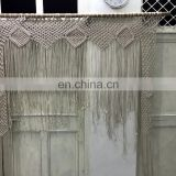 Wedding Backdrop bohremian custom Macrame Curtain Boho chic beach wedding outdoor party custom size macrame wall hanging