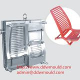 DDW Injection Chair Mold Leisure Plastic Chair Mold exported to Mexico