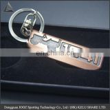 brand logo key chain keyring golden key chain / Antique design keychain /promotional gift