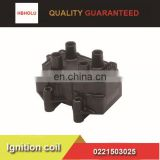 FIAT Peugeot Citroen Ignition coil 0221503025 with good quality