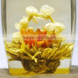China well-known new year tea gift blooming flower tea,natural and health Blooming flower Tea
