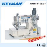 KM500-01CB/UT High speed flat-bed interlock sewing machine with auto-trimmer 562 sewings machines