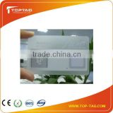 2014 whole sales Printable Ultralight NFC Transparent Card, contactless RFID business card