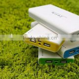 Hot sale large capacity 12000mah high quality Dual USB power bank for laptop/iPhone/tablet PC