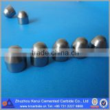 Conical shaped cemented carbide insert cutter for roller cone bits
