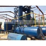 High oil output used plastic/tyre pyrolysis machine in Rubber Raw Material Machinery