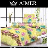 Trade assurance 80%polyester20%cotton pigment printed fashion designs for bedding set/ new arrival bedding set/bed sheet