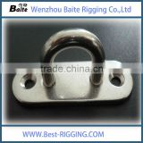 Rigging Hardware High Quality / Stainless Steel / Oblong Eye Pad