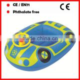 Hot sale inflatable boats with plastic Steering wheel for kids