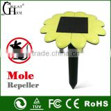2014 New china products for sale sound wave mole repeller/mole repeller with solar power GH-316E