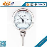 (WSS-411) 100mm bottom type low temperature single scale muli functions and uses probe dial thermometer