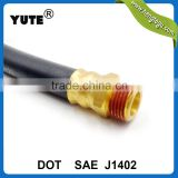 sae j1402 1/2 inch 32 inch brass fittings truck air pressure using fmvss106 brake hose                                                                                                         Supplier's Choice