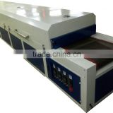 flash ir paint curing conveyor dryer oven for screen printing drying