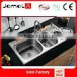 Factory Price!!! 2016 JOMOLA Stable Quality JTF-10050 Triple Bowl Sink Unique Kitchen Sink on sale