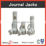 Japanese and Durable worm gear screw jack at reasonable prices , small lot order available