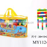 OEM Custom Plastic Building Bricks Toy assembling DIY blocks building blocks toys chair shape