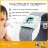 Wireless Bluetooth Smart Thermometer with Armband for Baby