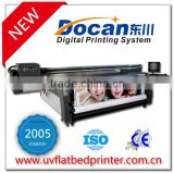 Hybrid inkjet uv flatbed printers for interior pvc canvas leather reflective film wallpaper