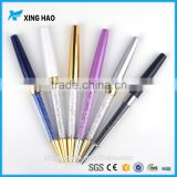 Newest design brand crystal pen colorful crystal ballpoint pens high grade office stationery class gifts with OEM welcome