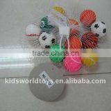 3.2cm sports bouncing ball 12pcs