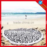 Brilliance promotion high quality round towel                                                                                                         Supplier's Choice