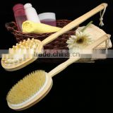 2016 hotsale Wood long handle body back wash brushes for scrubber back                                                                         Quality Choice
