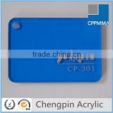cheap transparent blue colored plexiglass sheet price