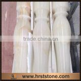 Prefab marble onyx column pedestal for sale