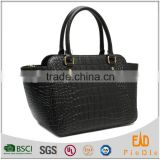 N2271-A5162 Newest mujer bolsos carteras fashion women handbags crocodile pattern genuine leather bags