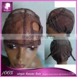 Hot selling easy wearing glueless Brazilian hair full lace wig,bleached knots glueless full stretch cap lace wigs