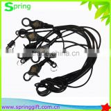Deluxe Bungee Cord Casino Slot Card Retainer Holder with Lobster Claw Clip