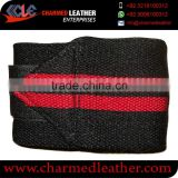 Colored elastic bandage wrap wrist wrap with custom logo for sports
