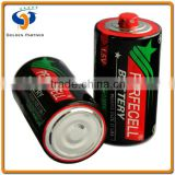 Durability r20 d size super heavy duty dry cell batteries