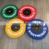 Hot Sale Deluxe Olympic Color Weight Bumper Plates