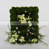 Wholesale beautiful hanging flower arrangement for wall decoration, hotel decor, home decor