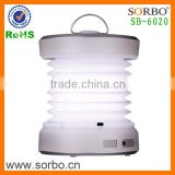 High Quality Best Camping Rainproof Outdoor LED Lantern Lamp Hand Crank Dynamo Foldable Lantern