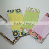 Different designs of memo pads,fancy notepad