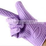 Heat Resistant Silicone BBQ Gloves - Best Oven Gloves - Best Grill Gloves , Great for Cooking , Boiling , Barbecue