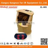 infrared sauna wooden barrel cedar wood feet health care