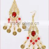 Fashion belly dance accessory performance wear drop earrings (T13)                                                                         Quality Choice