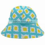 fashion ladies printed bucket hats