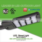 Best quality 240w module UL cUL DLC list led street light with adjustable arm for public lighting