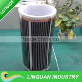 Electric far infrared heater film