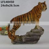 life size garden tiger animal statues