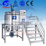 Yuxiang stainless steel mix tank industrial liquid detergent production line