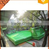 hot sell giant inflatable football soap field, inflatable paintball field, inflatable soccer field manufacturer for activity