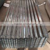 Color corrugated metal sheet
